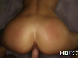 HD POV Blonde hotty suck and fucks your rock hard cock