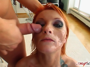 MILF Leonie found love at first sight with these cocks