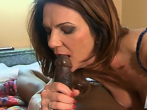 MILF Deauxma getting her ass stretched