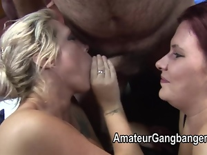 Raw footage from an amateur sex club