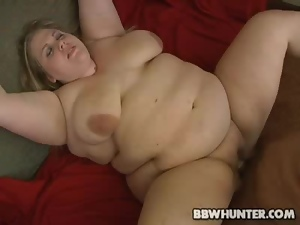 Fucked And Jizzed On BBW Babe Christina