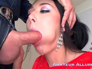 Hanna is hot, horny and ready to blow and swallow.