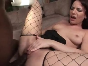 Pierced pussy and anal for Dana DeArmond