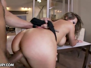 Rachel Roxx rocked (by a dick)