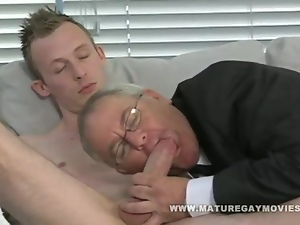 Chubby Daddy Gets Fuck By Young Escort Boy