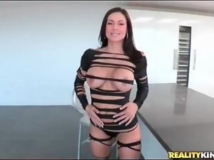Milf Kendra Lust models her smoking hot outfit