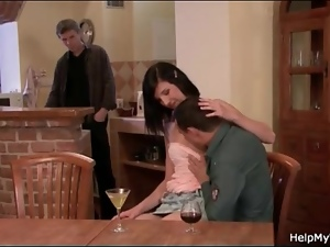 She cheats with permission in cuckold porn