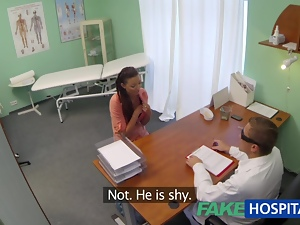 FakeHospital Married wife with fertility problem has vagina examined and fucked by the doctor