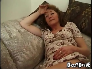 Granny takes cocks and cumshots like a whore