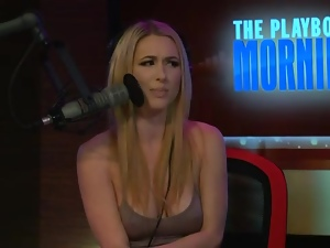 Playboy morning show talks March Madness
