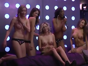 Some great tits during this naughty radio show