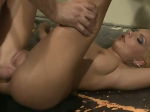 Submissive doll chloe assfucked