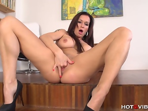 Stacy silver hot masturbation