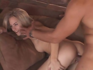 Blonde wife gets passed around