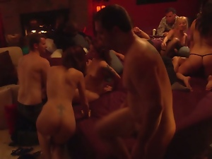 Sexy playboy orgy will blow your mind