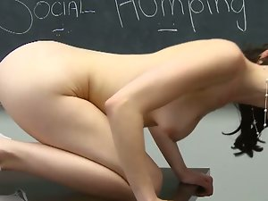 Veronica radke gets fucked on the table