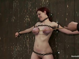 Iona Grace is chained on the wall and there is no way she is getting out of that shit!