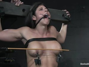 Claire Adams and Sara Faye get beaten and tortured and enjoy it much