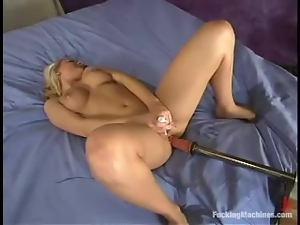 The best anal penetration experience with a fucking machine