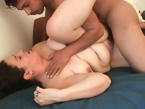 Chubby Amateur Brunette Goes Hardcore with a Bad Man