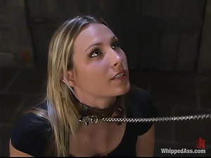 Harmony gets her cunt toyed to orgasm by Sandra Romain