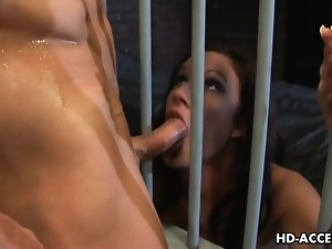 Hot gal Brandi Lyons ass fucked in a threesome