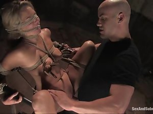Jordan gets lured to the fetish underworld and fucked hard