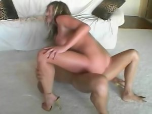 Delightful honey is loving that huge sex machine