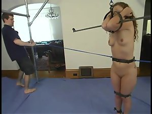 Ultimate bondage video with Amber getting humiliated