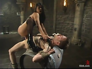 Sexy Mika Tan whips the guy and rides his big dick