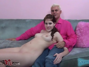 Horny girl Tiffany Tyler shows that she is a nymph