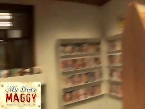 My-dirty-maggy.com VIDEO STORE SEX SESSION