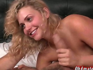 hot young blonde with firm round ass