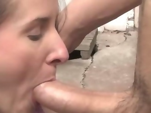 Real amateur girlfriend blowjob and fuck