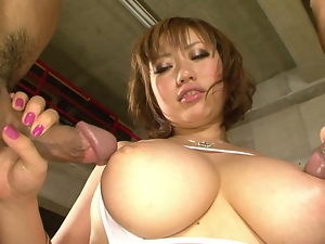 stacked milf neiro suzuka with big asian tits pounded.3some