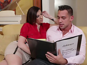 Sara Jay Johnny Castle in Seduced by a cougar