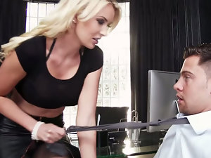 Gigi Allens Seth Gamble in Naughty Office