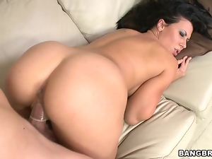Rachel Starr takes this hard dick deep in her pussy