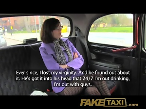FakeTaxi Horny girl loves the cock