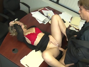 Charlee Monroe enjoys a rough pussy pounding