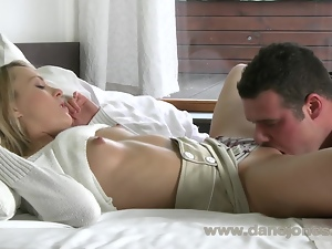 DaneJones HD Sexy blonde coed intensely passionate for