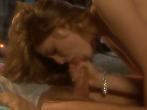 Faye Reagan takes anything that comes near her in her wet mouth