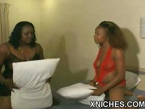 Black lesbian strap on sex at xniches