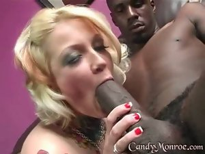 Candy gets rammed really hard