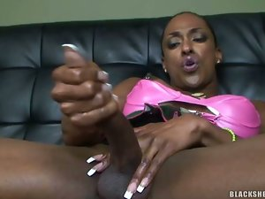 Black Muscle Tranny