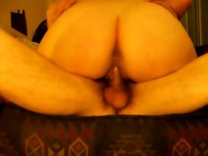 homemade  girlfriend riding my cock to creampie