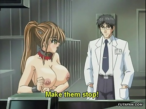 Hentai anime babe huge boobs milked
