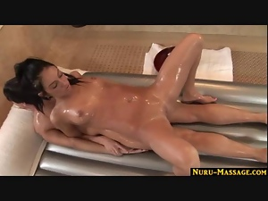 Nuru massage ends with a happy ending
