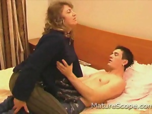 Mature sex attack