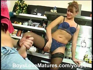 Hot mature milf gets fucked
